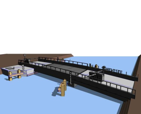 3D view LV brug_1
