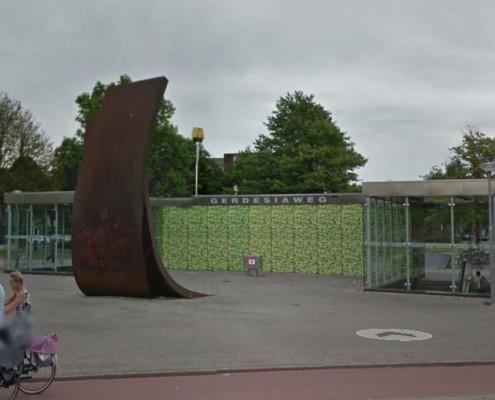 Metrostation Gardesiaweg